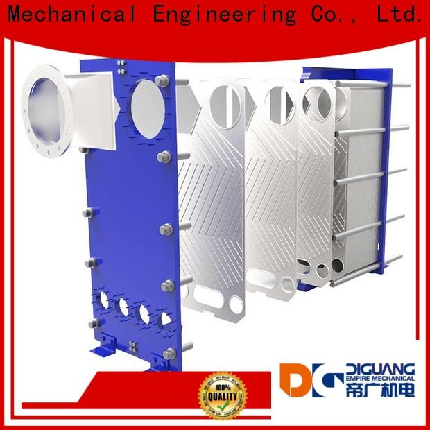 Bulk purchase OEM hot water plate heat exchanger Suppliers for transferring heat