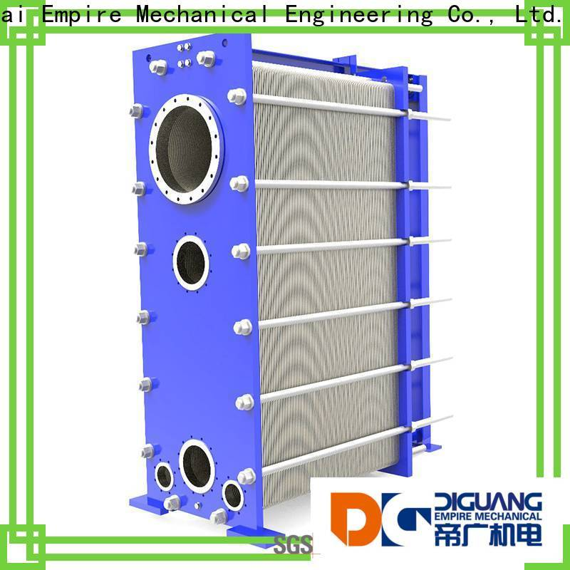 Custom shell and tube heat exchanger manufacturers company for transferring heat