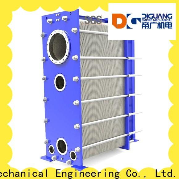 DIGUANG Custom welded plate and frame heat exchanger company for transferring heat
