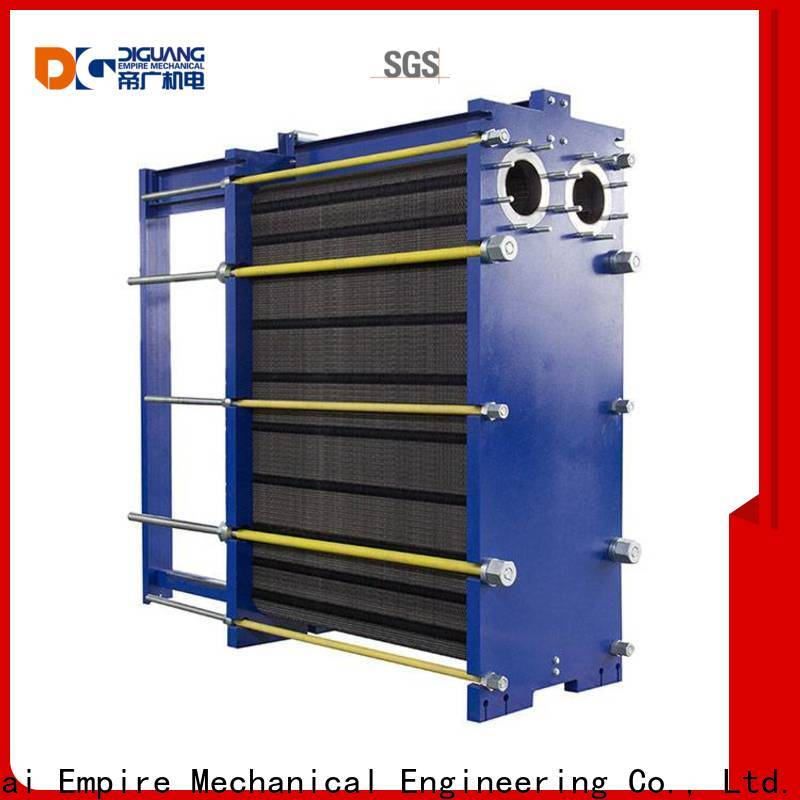 DIGUANG double wall heat exchanger Supply for transferring heat