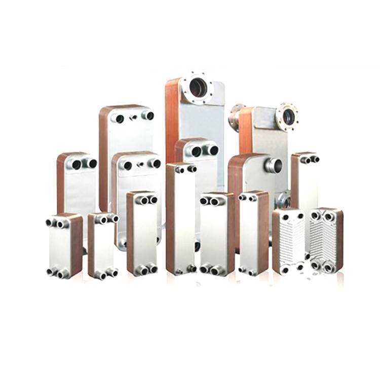 Brazed Heat Exchanger BPHE For refrigeration systems, HVAC or Oil Cooler