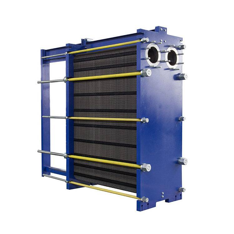 Plate Heat Exchanger Semi Welded Wide Gap Heat Exchanger