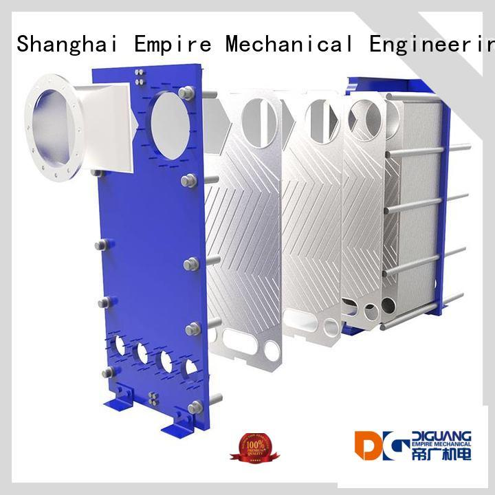 DIGUANG plate and frame heat exchanger efficiency Supply for transferring heat