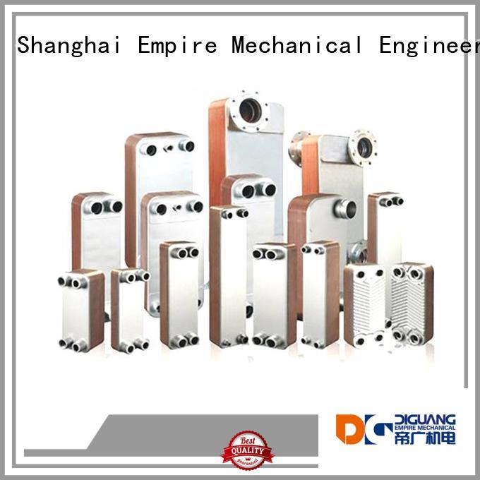 Top shell and tube type heat exchanger company for transferring heat