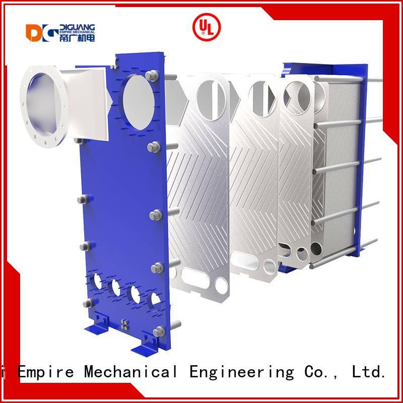 DIGUANG hot water plate heat exchanger Supply for transferring heat